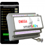 Sterownik schodowy LED  z aplikacją Android Bluetooth - smartLEDs OMEGA Exclusive